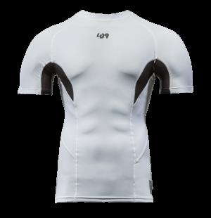 lb9 white short sleeve rashguard