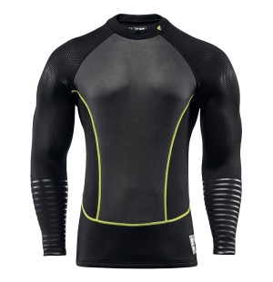 lb9 neoprene 2mm top black and yellow