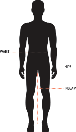 PANTS SIZES GUIDE