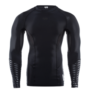 all black lb9 rashguard