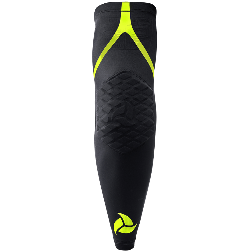 LB9 ELBOW SLEEVE BLACK YELLOW