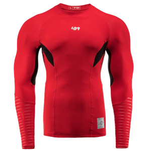 red lb9 rashguard