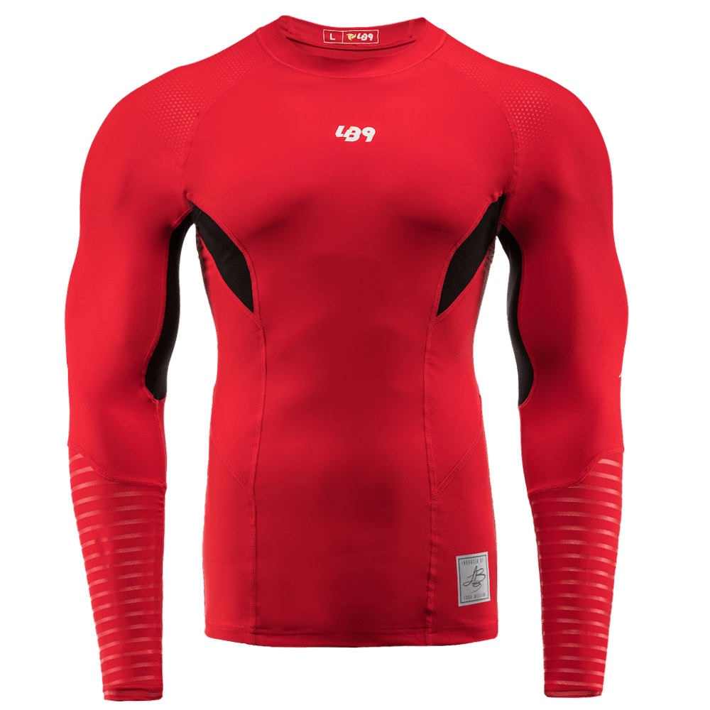Rash Guard m/l Rossa