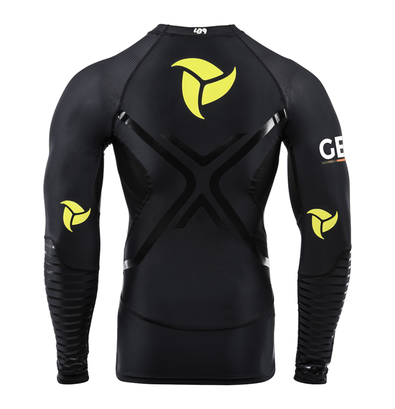GERMANY TEAM RASHGUARD M/L BLACK