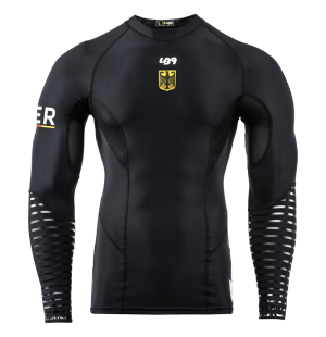 Official Germany Team Long Sleeve Compression Rashguard