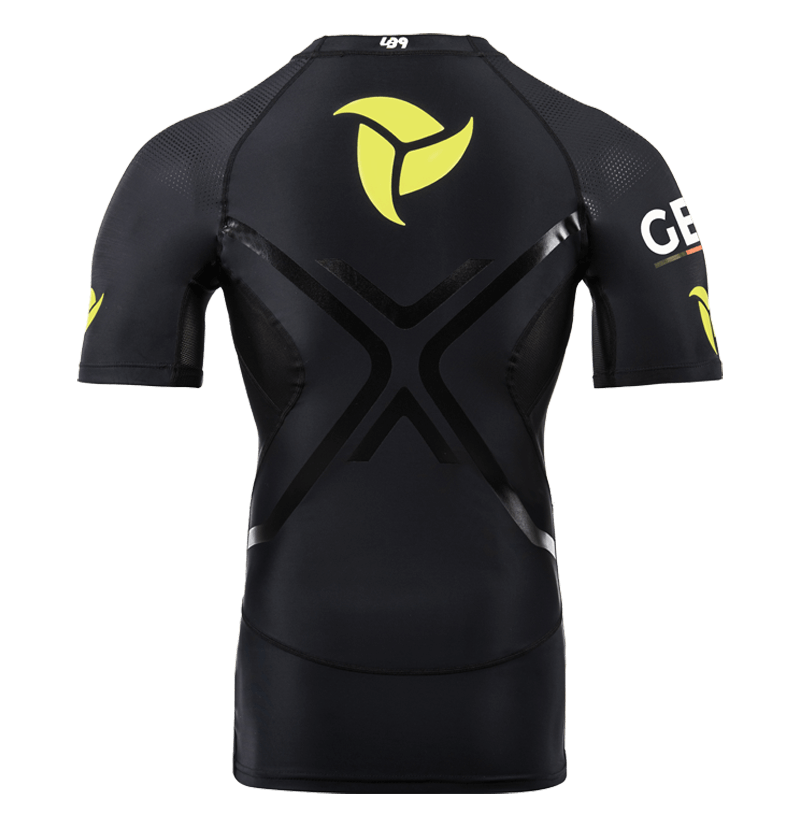Official Germany Team Short Sleeve Compression Rashguard