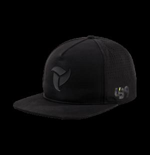 lb9 tech black snapback