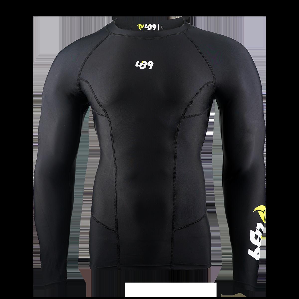Long Sleeve Core Rashguard Black