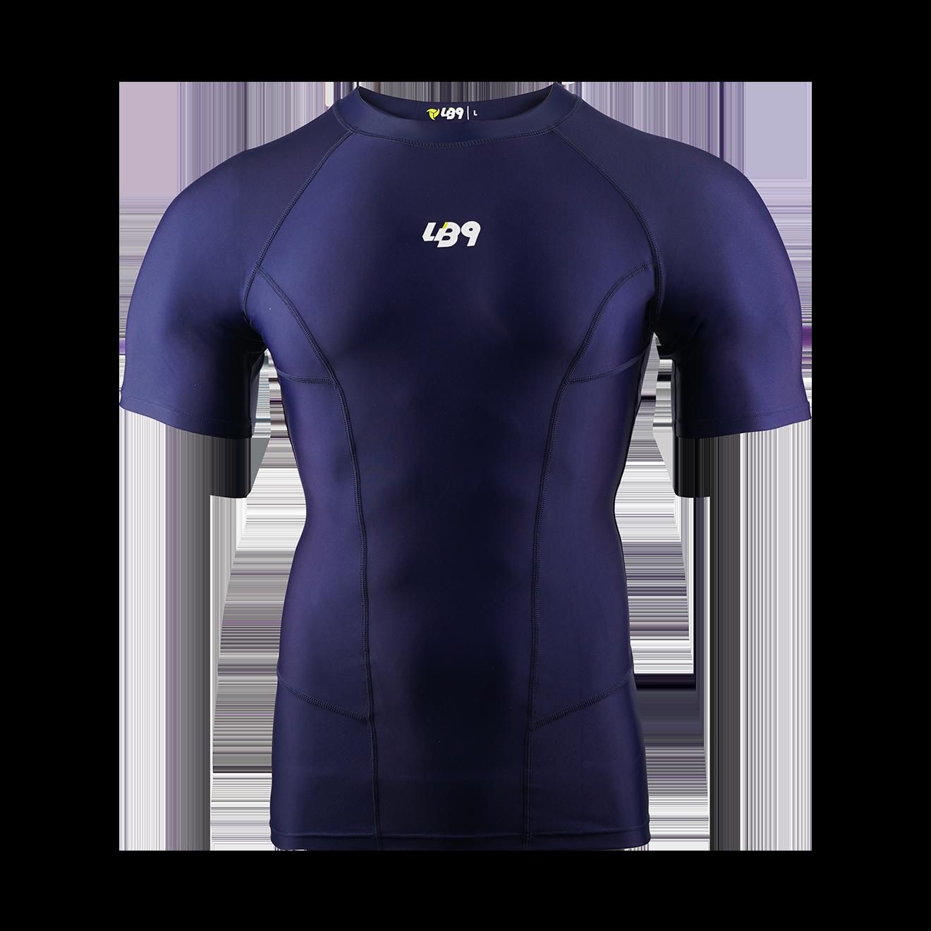 Short Sleeve Core Rashguard Navy