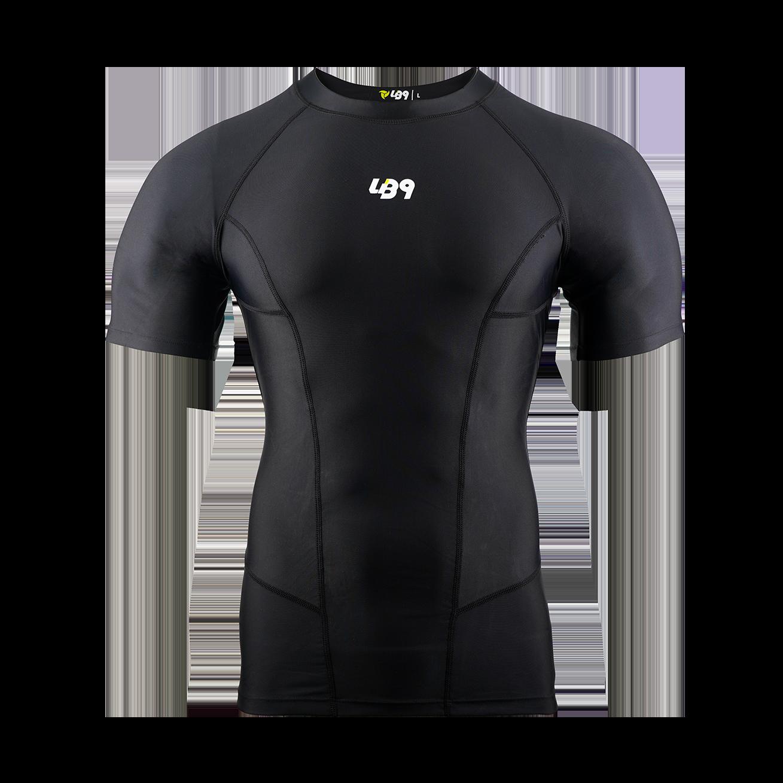 Short Sleeve Core Rashguard Black