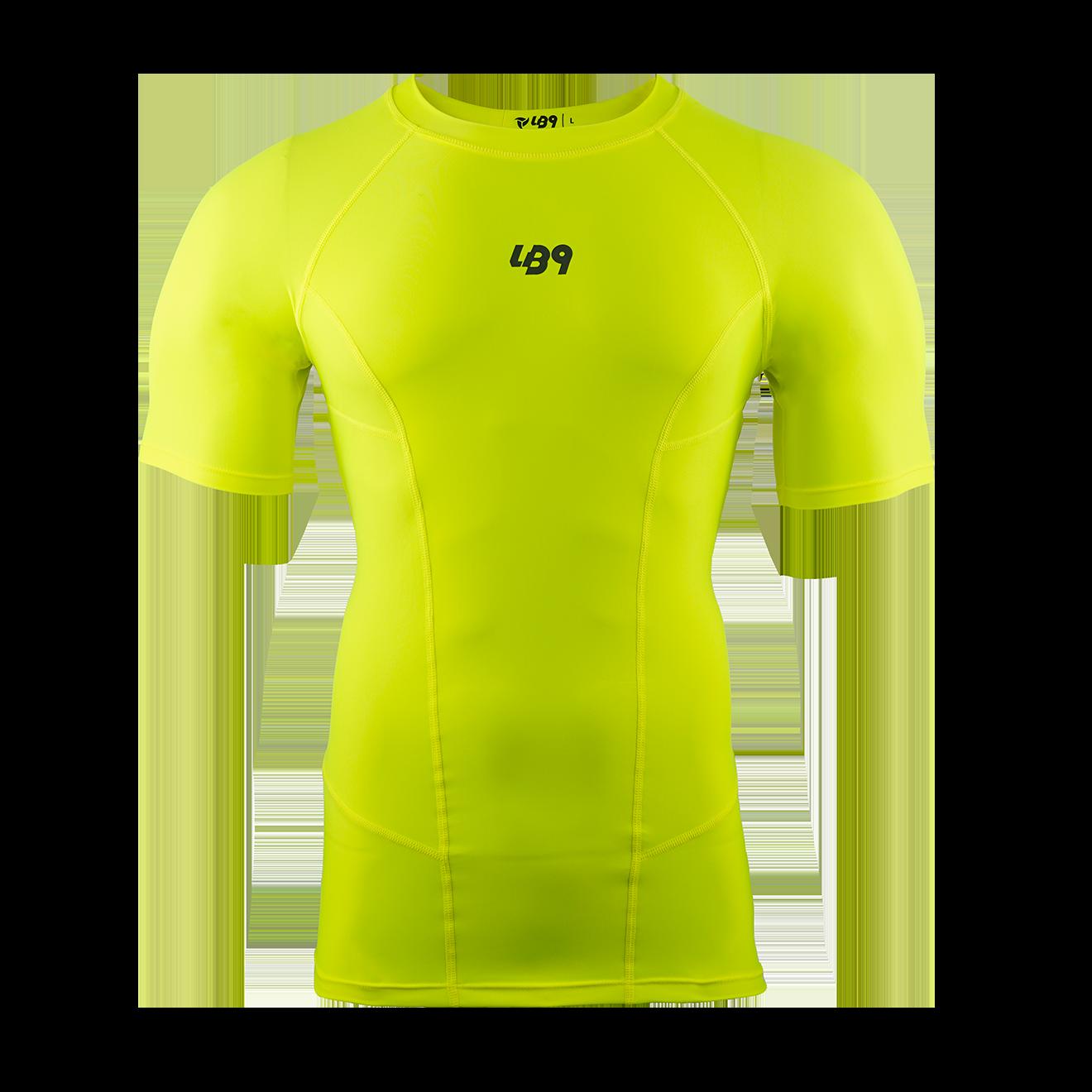 Short Sleeve Core Rashguard Volt Yellow